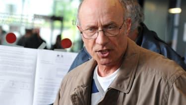 Gilles Patron lors du procès de Tony Meilhon, en mai 2013, à Nantes.