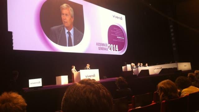 Vincent Bolloré a pris la présidence du conseil de surveillance de Vivendi puis de Canal Plus