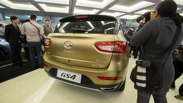 GAC a dévoilé le SUV Trumpchi GS4, un modèle destiné aux familles américaines. Le groupe a décidé de trouver un nouveau nom pour les séduire.