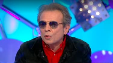 """Philippe Manoeuvre dans """"Les Terriens du dimanche"""", le 2 décembre 2018"""