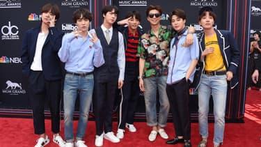 Le groupe BTS