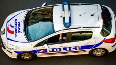 Illustration - Une voiture de police