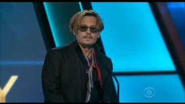 Johnny Depp avait expliqué en juin 2013 qu'il n'avait pas touché une goutte d'alcool depuis 18 mois.