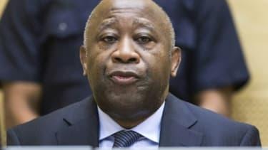 Laurent Gbagbo le 19 février 2013 à la CPI à La Haye (photo d'illustration)