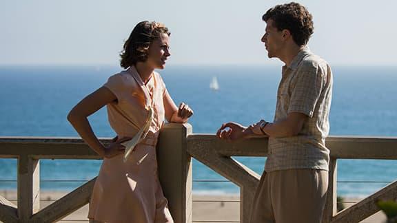 "Kristen Stewart et Jesse Eisenberg dans ""Café Society"" de Woody Allen"