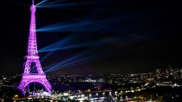 La Tour Eiffel, le 1er octobre 2019