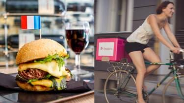 Le site Foodora dispose d'une flotte à Paris de 50 personnes qui livrent les repas à vélo