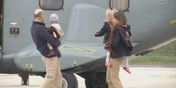Le journaliste du Point Nicolas Hénin retrouve ses enfants.
