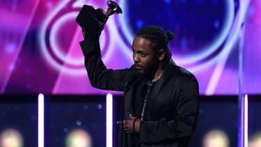 Kendrick Lamar aux Grammys 2018