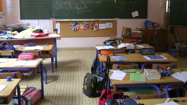 Une salle de classe d'école primaire (Photo d'illustration)