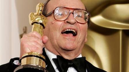 """Le cinéaste américain Sidney Lumet, réalisateur connu pour inciter ses interprètes à donner leur maximum dans des classiques comme """"Douze Hommes en colère"""" ou """"Un après-midi de chien"""", est décédé samedi à l'âge de 86 ans, indique le New York Times. /Photo"""