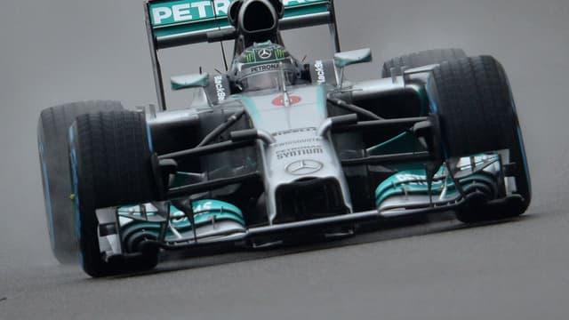 La Mercedes de Nico Rosberg