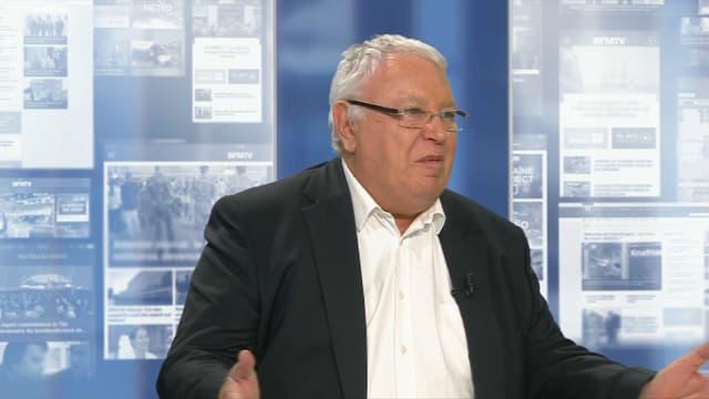 Gérard Filoche ce jeudi sur BFMTV.