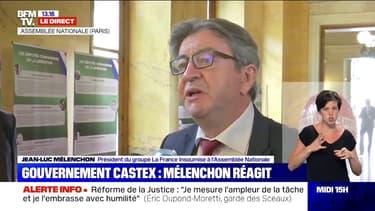 """Mélenchon sur Dupond-Moretti: """"J'ai envie de faire le pari de le croire"""""""