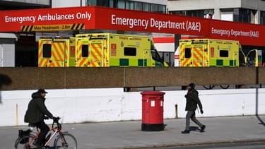 Les urgences de l'hôpital St-Thomas à Londres.