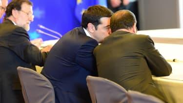 Alexis Tsipras, lundi à Bruxelles.