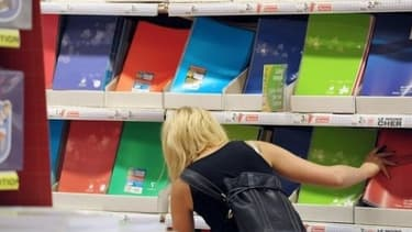 Les achats de fournitures scolaires se font principalement dans les supermarchés.