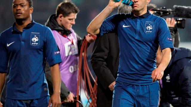 Evra et Benzema, de plus en plus controversés en Bleu
