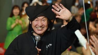 Kansai Yamamoto en juin 2015 à Tokyo
