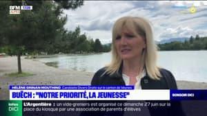 """Elections départementales Hautes-Alpes: """"notre priorité, la jeunesse"""", confie Hélène Grignan Moutinho, candidate Divers droite sur le canton de Veynes"""