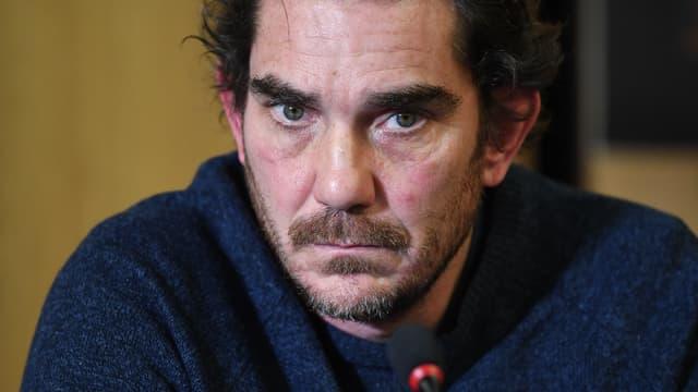 Sébastien Farran, au lendemain du décès de Johnny Hallday, le 7 décembre 2017 à Paris