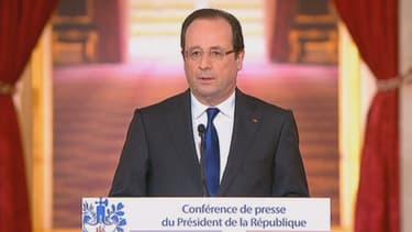 François Hollande a convaincu le Medef, pas les syndicats, jeudi 16 mai.