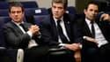 Manuel Valls, Arnaud Montebourg, Benoît Hamon s'opposent au sujet de la loi Travail.