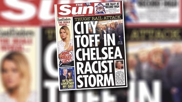 La Une du Sun de ce jeudi 19 février dévoile l'identité de l'un des agresseurs présumés d'un homme noir à Paris.