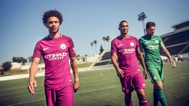 Manchester City va jouer en violet