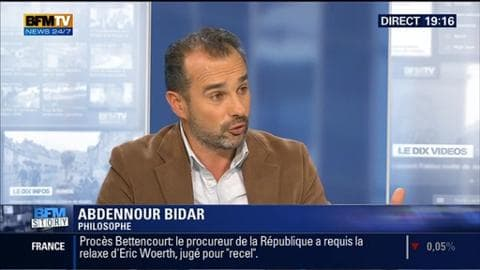 """BFM Story: Attentats de Paris: """"Des gouffres culturels et sociaux se sont creusés au sein de notre société"""", Abdennour Bidar - 20/02"""