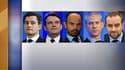 Gérald Darmanin, Thierry Solère, Edouard Philippe, Franck Riester et Sébastien Lecornu, les 5 exclus par Les Républicains.