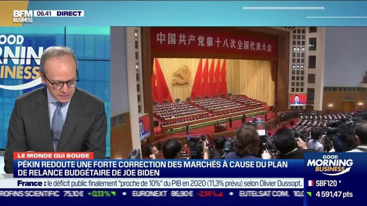 Benaouda Abdeddaïm : Pékin redoute une forte correction des marchés à cause du plan de relance budgétaire de Joe Biden - 03/03