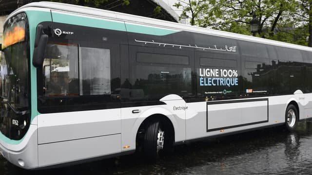 Les 23 véhicules de la ligne 341 (Charles de Gaulle-Etoile / Porte de Clignancourt) sont des bus Bolloré à propulsion électrique.