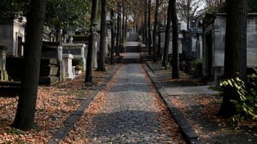 Un cimetière - Image d'illustration