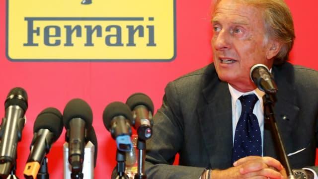 Montezemolo est resté 23 ans à la tête de Ferrari.