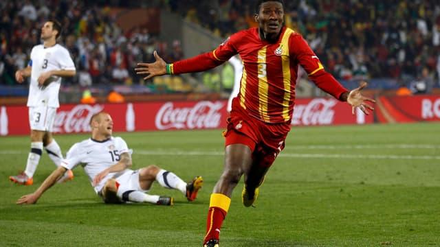 Gyan a inscrit le but victorieux du Ghana face aux Etats-Unis