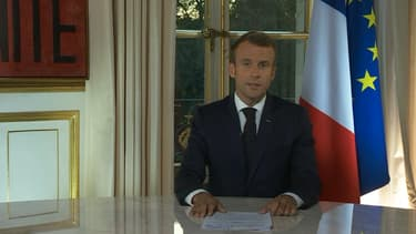 Emmanuel Macron a assuré, ce mardi soir, à l'Élysée, maintenir le cap des réformes qu'il a tracé.