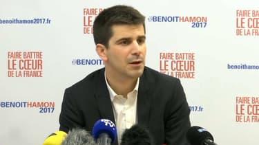 Mathieu Hanotin, le porte-parole de Benoît Hamon.