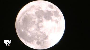 La dernière Super Lune de l'année avait lieu dimanche soir. Elle était visible pour la première fois de l'année en France. Il faudra maintenant attendre janvier 2018 pour pouvoir admirer une lune aussi grosse et claire dans le ciel.