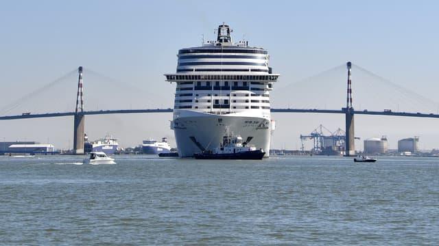 Les chantiers navals STX France vont une nouvelle fois construire l'un des paquebots de MSC Croisières (image d'illustration)