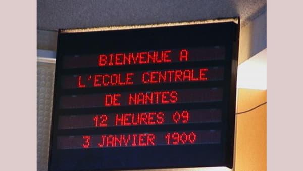 Exemple d'une erreur d'affichage lors du passage à l'an 2000