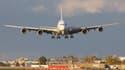Un A380 d'Air France s'apprête à se poser à Montréal.