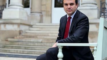 Thomas Thévenoud le 30 octobre 2012 devant l'Assemblée nationale.
