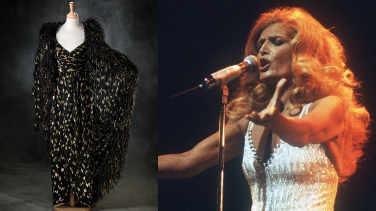 Mystère et polémique autour d'une robe de Dalida vendue aux enchères