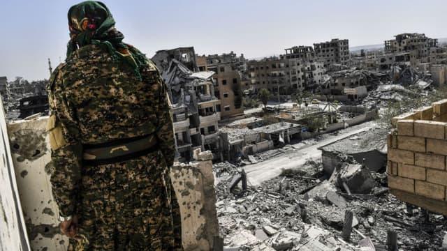 Raqqa, le 8 octobre 2017.