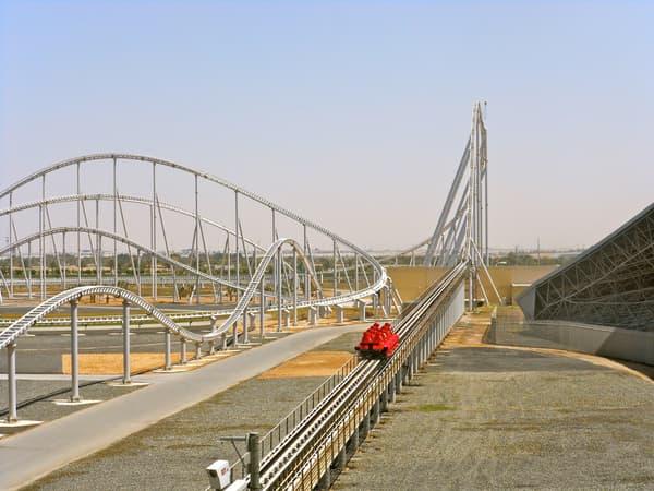 Le constructeur italien promet que ses montagnes russes sont les plus rapides au monde.