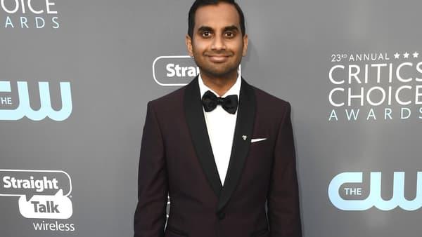 Aziz Ansari à Santa Monica le 11 janvier 2018 - Frazer Harrison