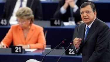 Le président de la Commission européenne, José Manuel Barroso, a prononcé un discours attendu, mercredi 12 septembre, devant les eurodéputés.
