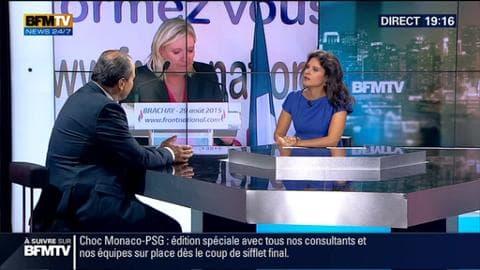 """Jean-Christophe Cambadélis dans BFM Politique: """"La crise interne au FN a démontré que cette formation politique n'était pas qualifiée pour gouverner la France"""""""