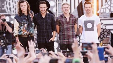 Les One Direction, le 4 août 2015